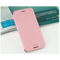 Чехол флип подставка водоотталкивающий для HTC Desire 626/628 Розовый