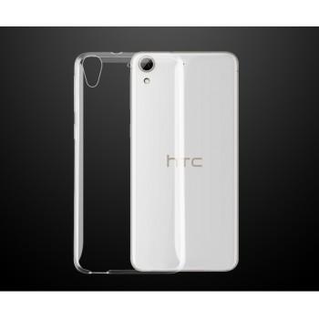 Силиконовый транспарентный чехол для HTC Desire 626/628