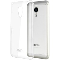 Пластиковый транспарентный чехол для Meizu MX5