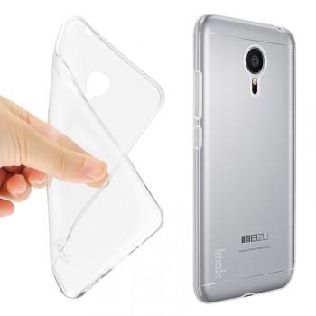 Силиконовый транспаретный чехол для Meizu MX5