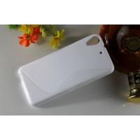 Силиконовый S чехол для HTC Desire 626/628 Белый