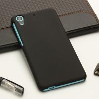Пластиковый матовый непрозрачный чехол для HTC Desire 626/628 Черный