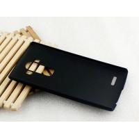 Пластиковый матовый непрозрачный чехол для LG G4 S Черный