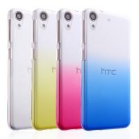 Пластиковый градиентный полупрозрачный чехол для HTC Desire 626/628