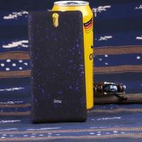 Пластиковый матовый непрозрачный чехол с голографическим принтом Звездная палитра для Sony Xperia C5 Ultra Фиолетовый