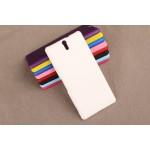 Пластиковый матовый непрозрачный чехол для Sony Xperia C5 Ultra