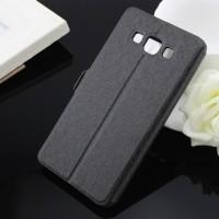 Чехол флип на пластиковой основе серия Crystal Rear для Samsung Galaxy A5 Черный