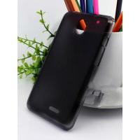 Силиконовый чехол для Nokia Asha 502 Черный