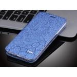 Текстурный узорный чехол флип подставка на силиконовой основе для Meizu MX5