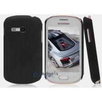 Пластиковый чехол для Samsung Galaxy Fame Lite Черный