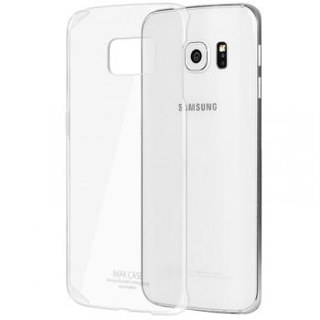 Пластиковый транспарентный чехол для Samsung Galaxy S6 Edge Plus