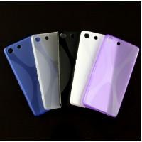 Силиконовый X чехол для Sony Xperia M5