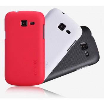 Пластиковый премиум матовый чехол для Samsung Galaxy Trend Lite