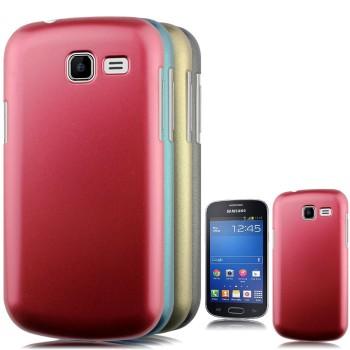 Пластиковый чехол серия Metallic для Samsung Galaxy Trend Lite