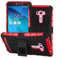 Силиконовый чехол экстрим защита для ASUS Zenfone Selfie Красный