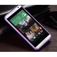 Силиконовый чехол Х для HTC Desire 610 Фиолетовый