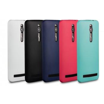 Силиконовый матовый нанотонкий 0.39 мм чехол для Asus Zenfone 2 5.5
