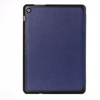 Чехол флип подставка сегментарный на поликарбонатной основе для ASUS ZenPad 10 Синий
