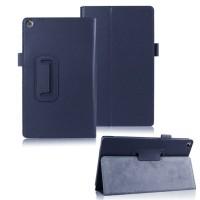 Чехол подставка с рамочной защитой для ASUS ZenPad 8 Синий