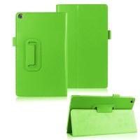 Чехол подставка с рамочной защитой для ASUS ZenPad 8 Зеленый