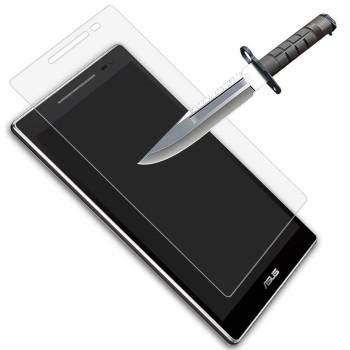 Ультратонкое износоустойчивое сколостойкое олеофобное защитное стекло-пленка для планшета ASUS ZenPad 8