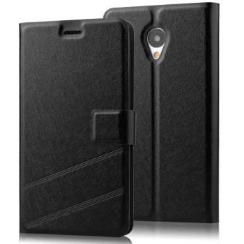 Дизайнерский чехол портмоне подставка с магнитной застежкой для Meizu M1
