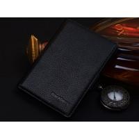 Кожаный чехол портмоне (нат. кожа) для BlackBerry Passport Silver Edition Черный