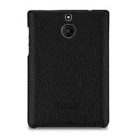 Кожаный чехол накладка (нат. кожа) для BlackBerry Passport Silver Edition