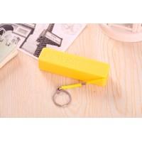 Ультракомпактное устройство-брелок для сохранения заряда гаджета 600 mAh Желтый