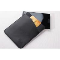 Кожаный мешок с отделением для карт для BlackBerry Passport Silver Edition Черный