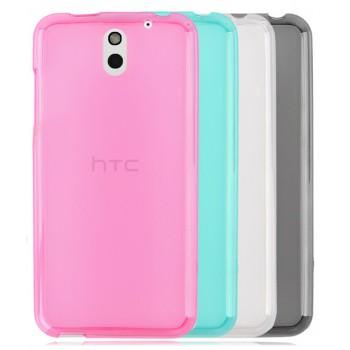 Силиконовый полупрозрачный чехол для HTC Desire 610