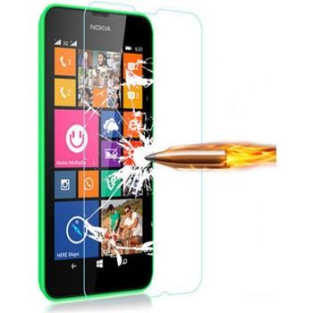 Ультратонкое износоустойчивое сколостойкое олеофобное защитное стекло-пленка для Nokia Lumia 720