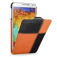 Кожаный чехол вертикальная книжка (нат. кожа) ручной работы серия Corner для Samsung Galaxy Note 3