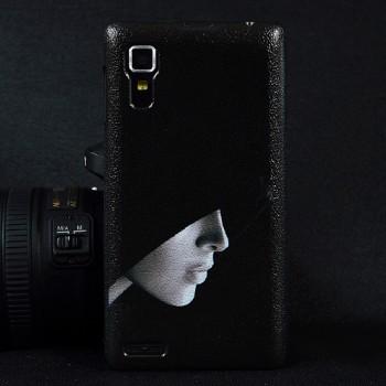Пластиковый матовый дизайнерский чехол с УФ-принтом для Lenovo P780