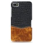 Эксклюзивный кожаный чехол накладка (2 вида нат. кожа) для BlackBerry Z10