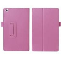 Чехол подставка с рамочной защитой для ASUS ZenPad 8 Фиолетовый