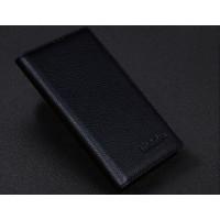 Кожаный чехол-портмоне для Sony Xperia T3 Черный