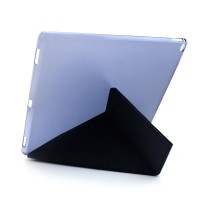 Оригами чехол книжка подставка текстура Узоры на полупрозрачной поликарбонатной основе для Ipad Pro