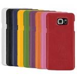 Кожаный чехол накладка (нат. кожа) серия для Samsung Galaxy Note 5