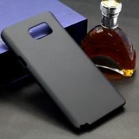 Пластиковый матовый металлик чехол для Samsung Galaxy Note 5