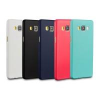 Силиконовый матовый нанотонкий 0.39 мм чехол для Samsung Galaxy A5