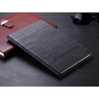 Чехол подставка на поликарбонатной основе текстура Камень для Ipad Mini 4 Черный