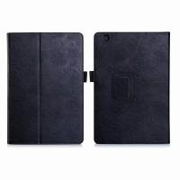Чехол подставка с рамочной защитой и внутренними отсеками для Sony Xperia Z4 Tablet Черный