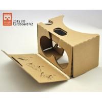 Очки виртуальной реальности Google Cardboard VR v.2 2015 для гаджетов диагональю до 6 дюймов для Samsung Galaxy J (n075, n075t, SC-02F, SGH-N075T)