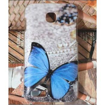 Пластиковый матовый дизайнерский чехол с принтом для Fly IQ434 Era Nano 5