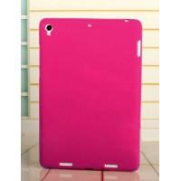 Силиконовый матовый непрозрачный чехол для Xiaomi MiPad Пурпурный