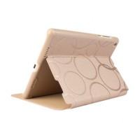 Чехол подставка на поликарбонатной основе текстура Круги для Xiaomi MiPad