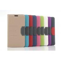 Дизайнерский чехол флип подставка на силиконовой основе с отделением для карты для Samsung Galaxy Note 5