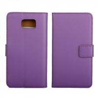 Чехол портмоне подставка для Samsung Galaxy Note 5 Фиолетовый