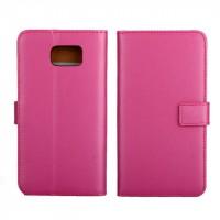 Чехол портмоне подставка для Samsung Galaxy Note 5 Пурпурный